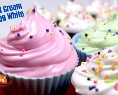 Chantilly cream recipe with egg white