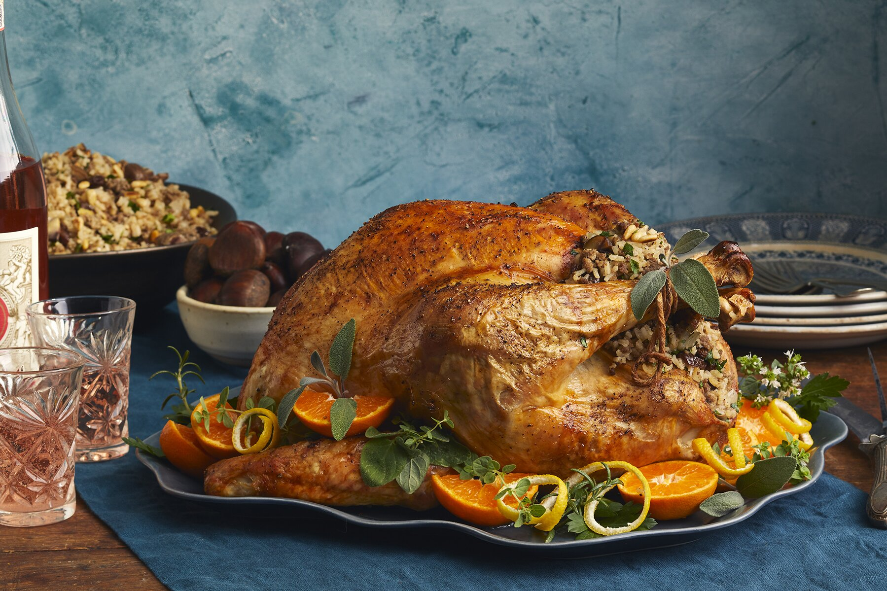 Authentic Stuffed Turkey Recipe for Thanksgiving