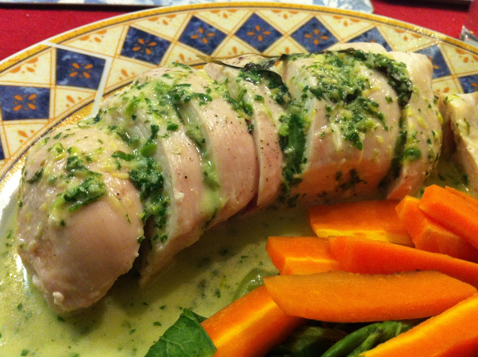Breasts filleted in green sauce recipe 2022
