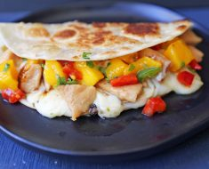 Chicken breast stuffed with mango and peppers recipe 2022