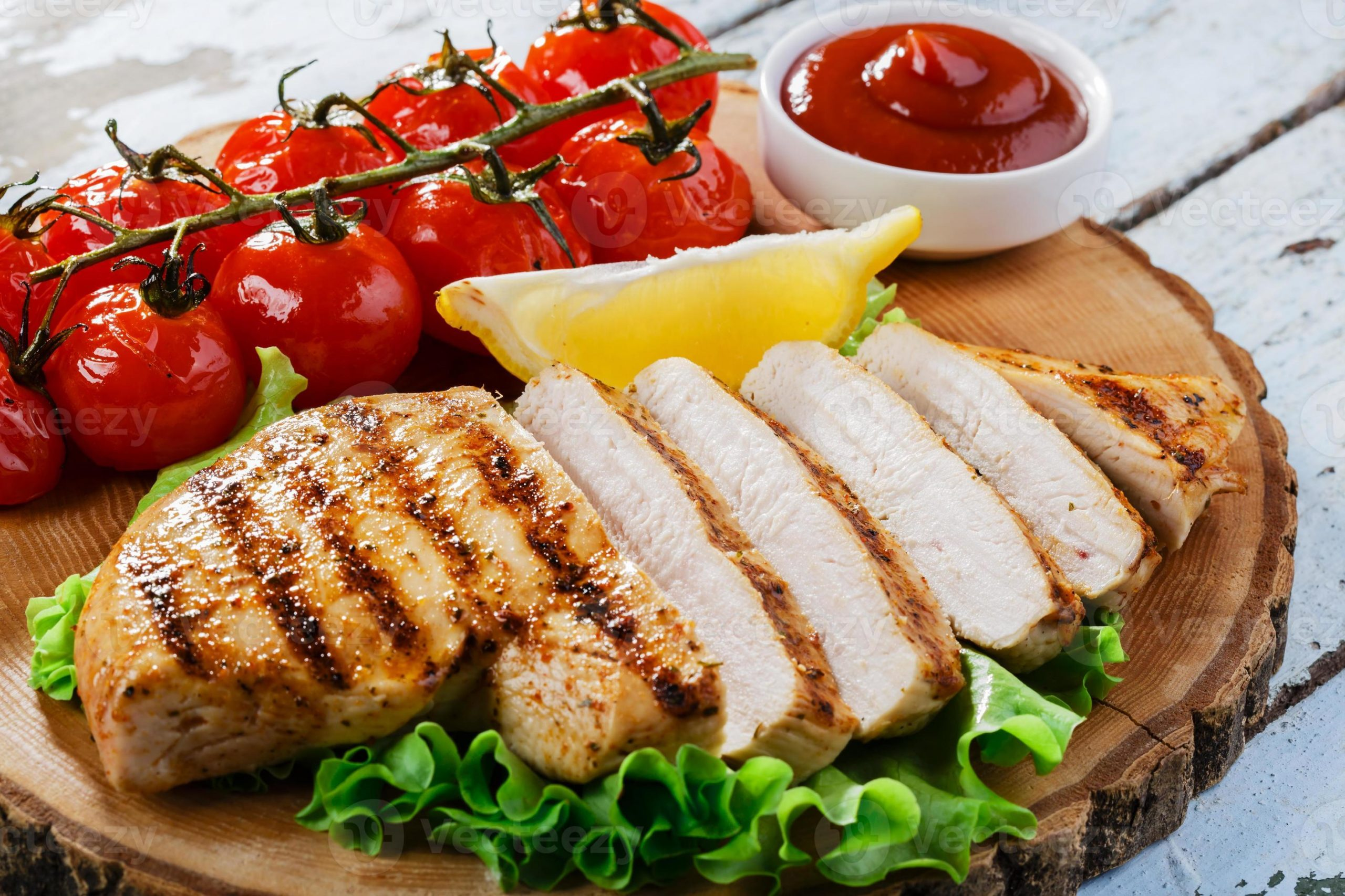 Chicken breasts recipe with vegetable sauce 2022