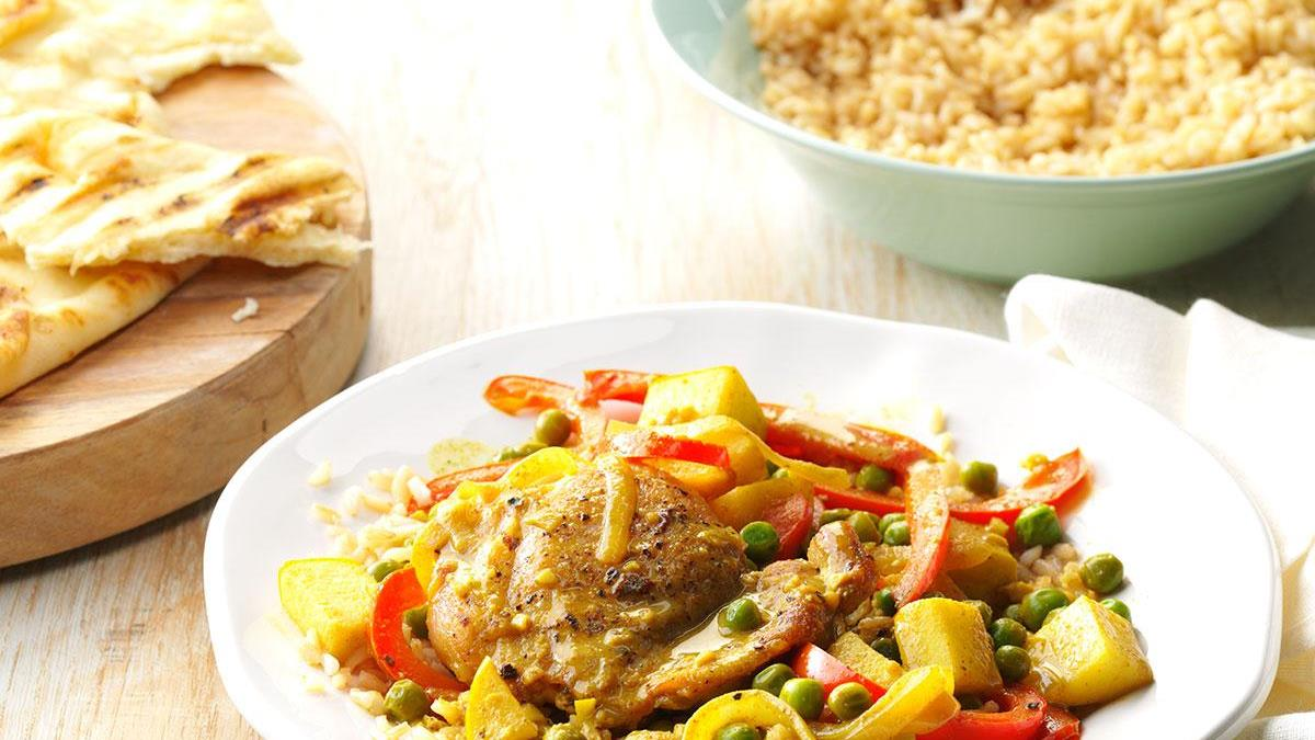 Chicken curry recipe with apple