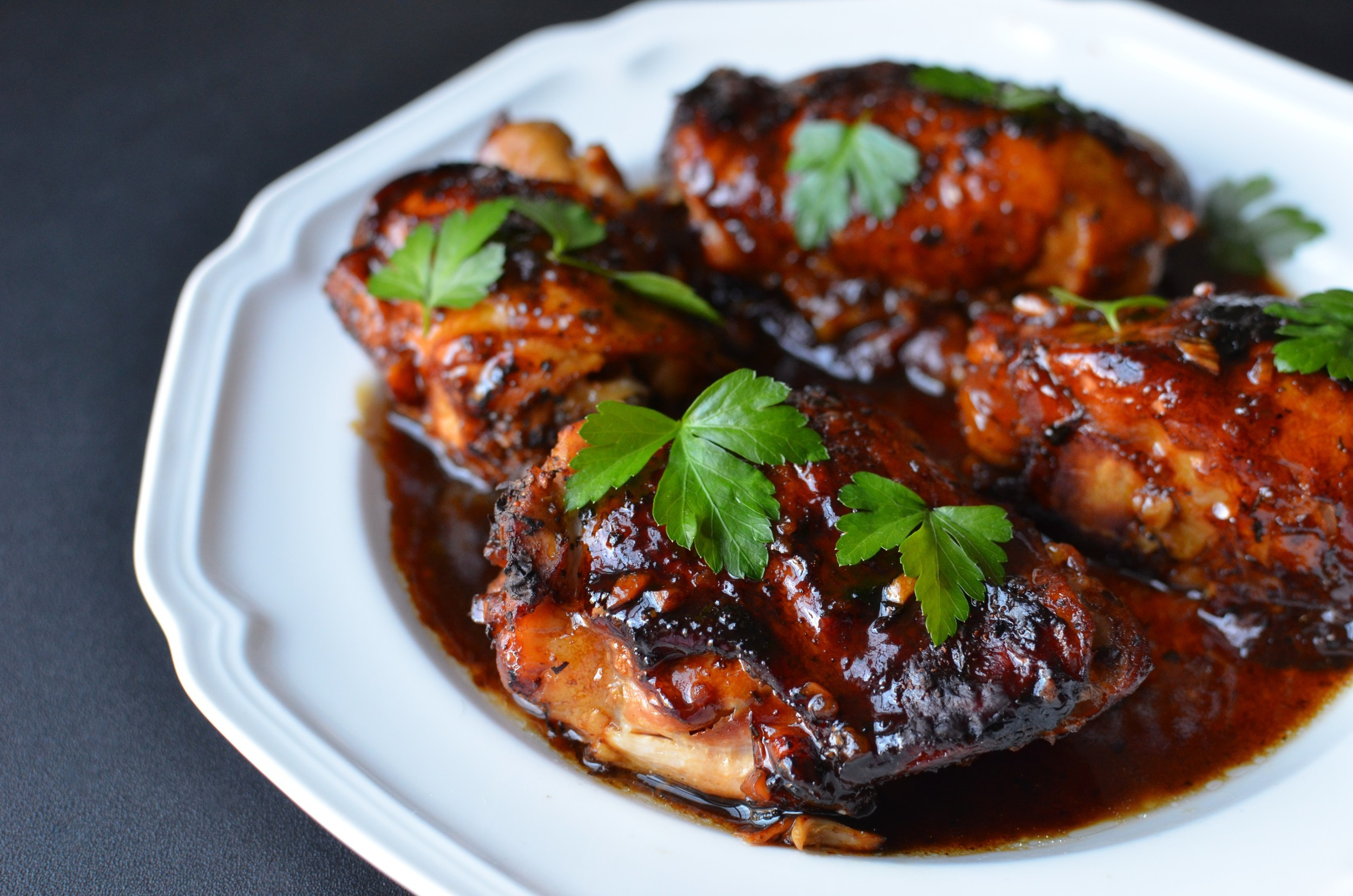 Chicken recipe with balsamic reduction 2022