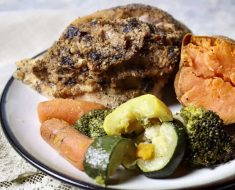 Chicken stuffed with plums and walnuts recipe 2022