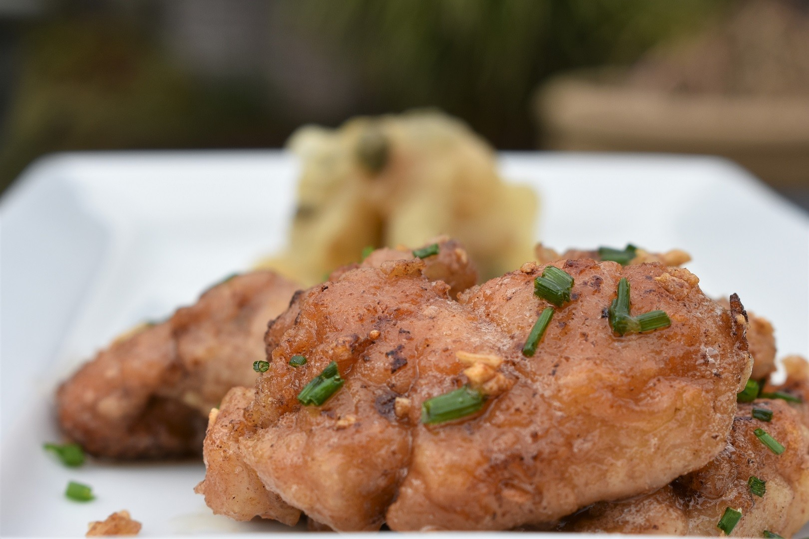 Chicken sweetbreads recipe in spicy sauce