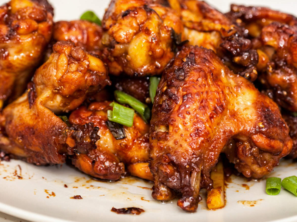 Chicken wings recipe in soy sauce, honey and lemon 2022