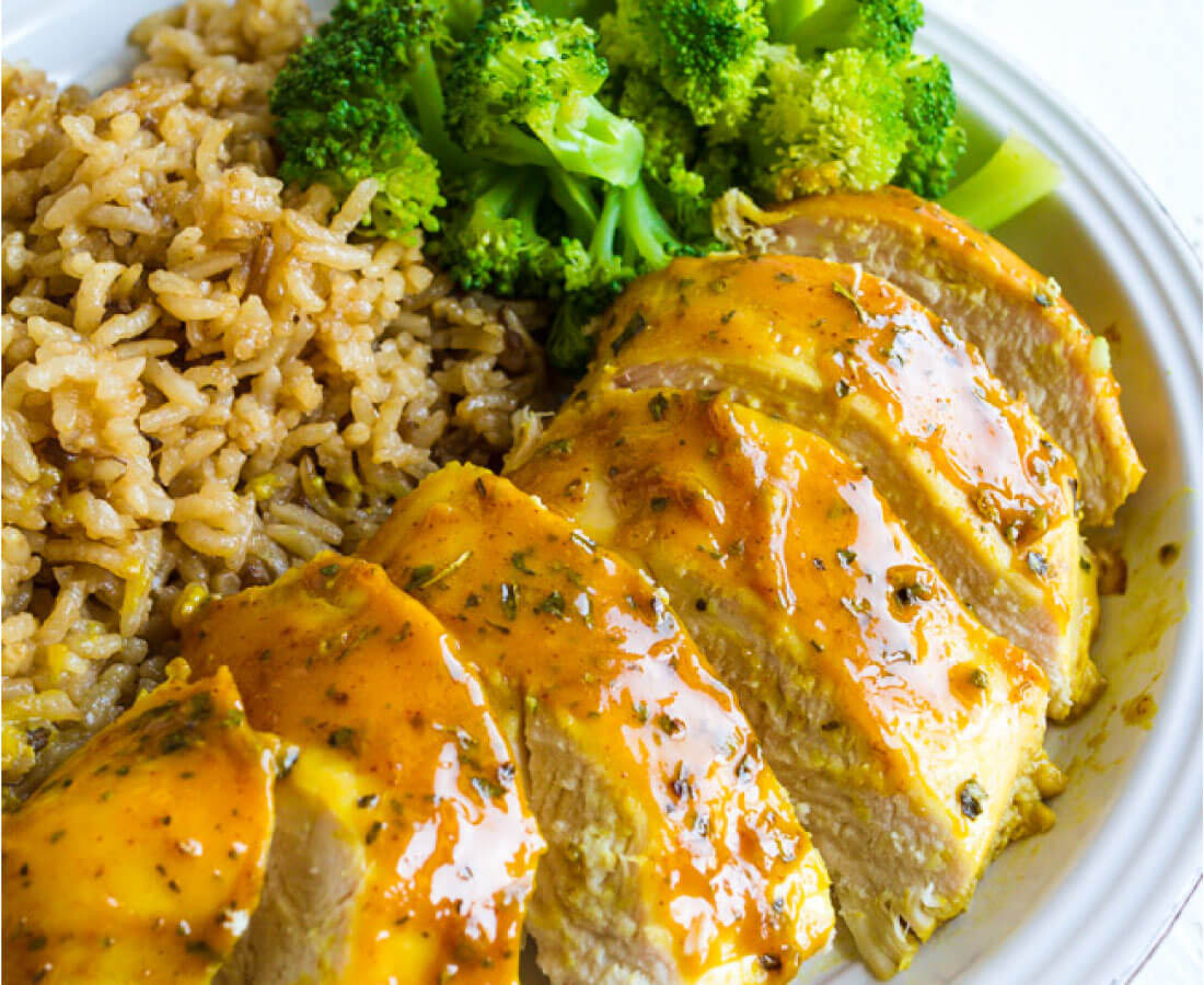 Chicken with mustard and honey recipe without oven