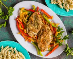 Chicken with peppers recipe 2022