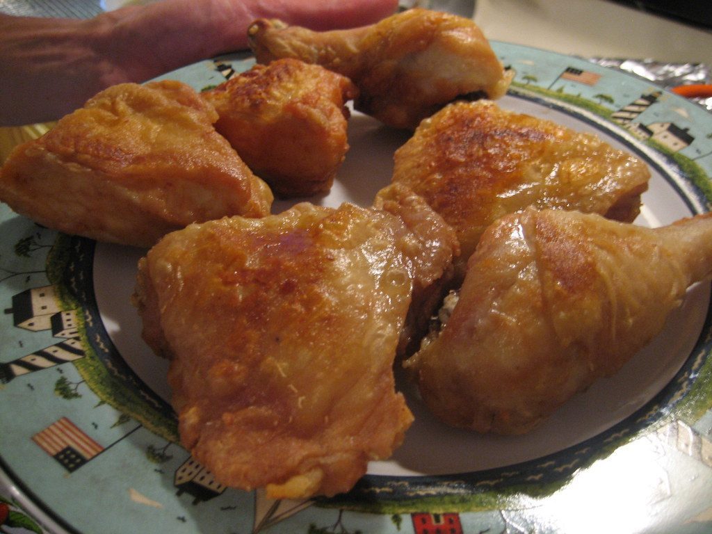 Fried chicken recipe without flour or breadcrumbs