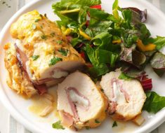 Recipe for Chicken Hams with Almond Crust 2022