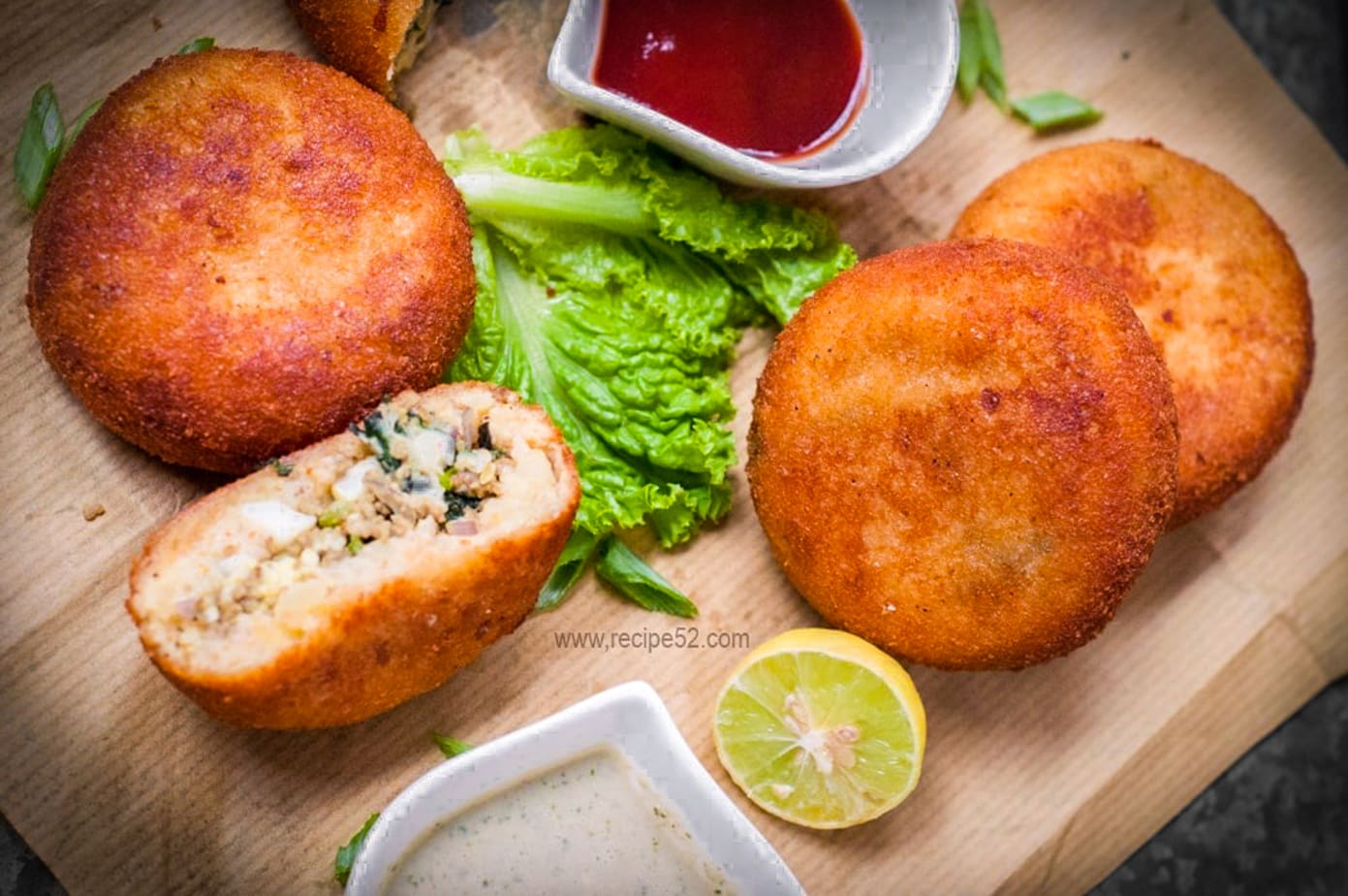 Recipe for Round chicken stuffed with minced meat