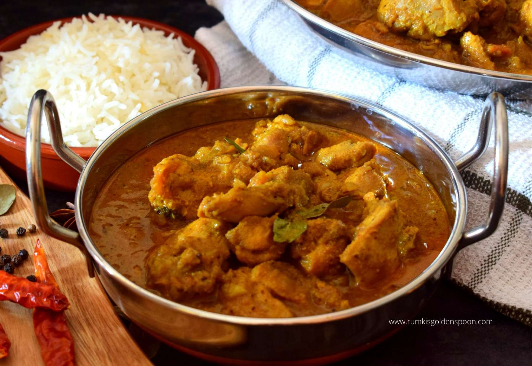 Simple and original Indian chicken curry recipe
