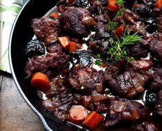 Venison and Wild Boar recipe with rosemary with red wine 2022