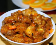 Easy and tasty Chicken with orange recipe