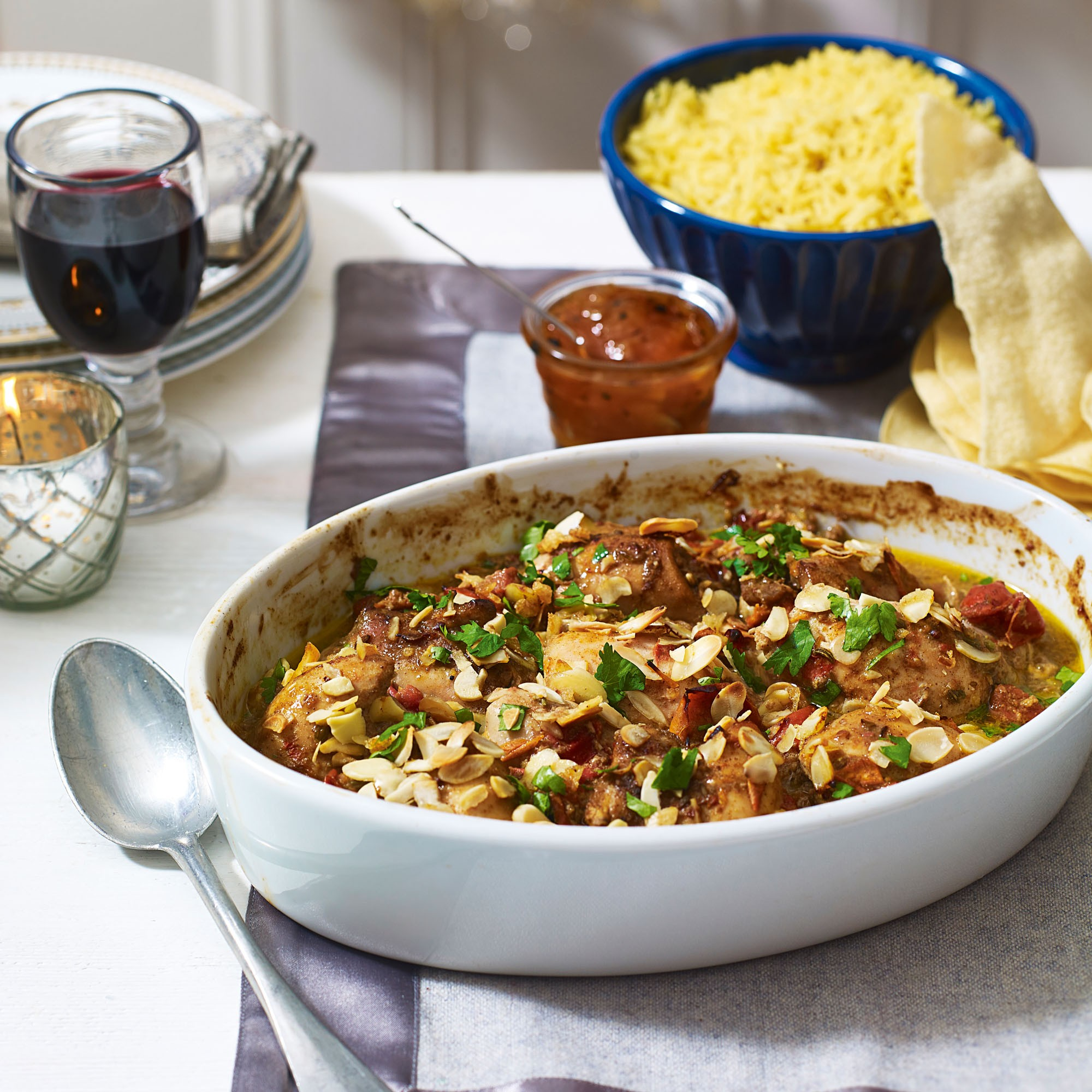 Baked Chicken Curry Recipe