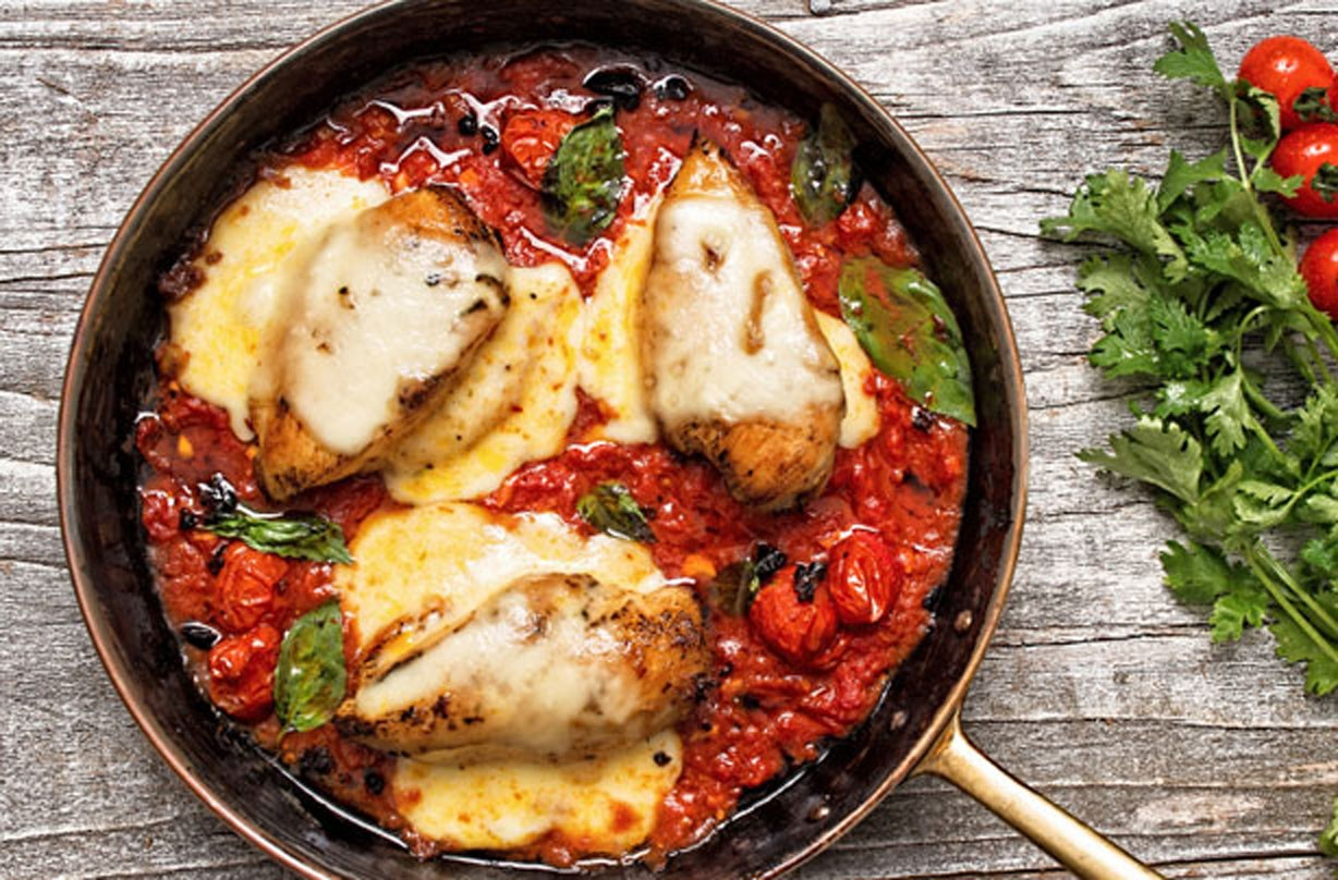 Chicken recipe cooked with tomato