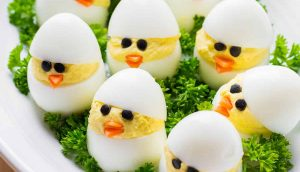 Easy to make Chicken and Egg Baskets Recipe