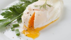 Microwave poached egg recipe